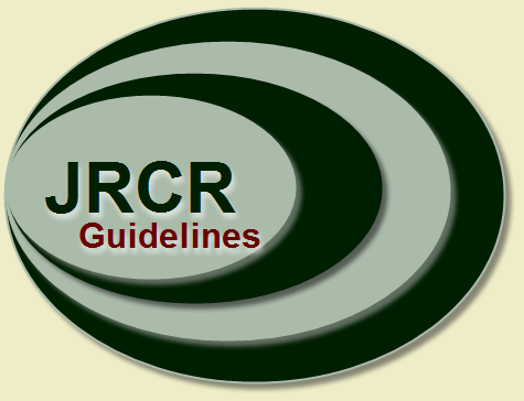 JRCR - updated author guidelines for 2012